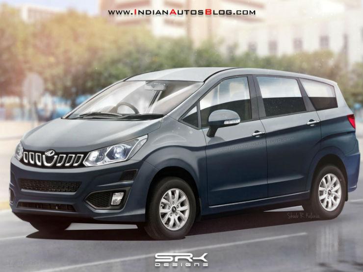 Mahindras-Innova-rivaling-MPV-front-three-quarter-Rendering