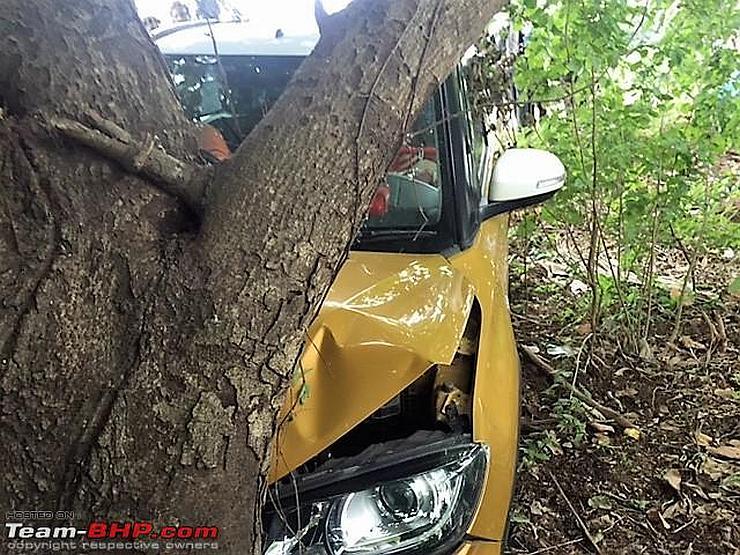 Vitara Brezza Crash 2